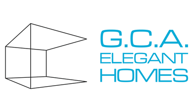 G.C.A Elegant Homes Logo