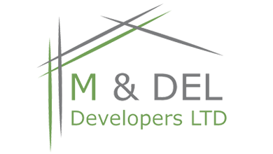 M & DEL Developers LTD Logo