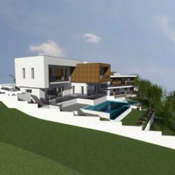 Limassol Sfalaggiotissa Villas For Sale House A Outdoor