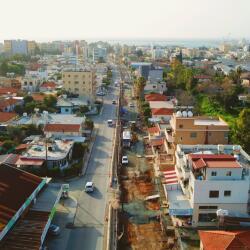 Extension Of Garilli Linear Park Dimokratias Street