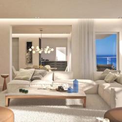 Q Emerald Luxury Beachfront Property Living Room
